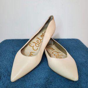 Sam Edelman Cream Flats Size 7.5
